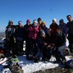 Blazing sunshine and awesome views on Snow Venture - 2014
